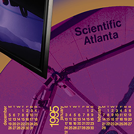 Digital Beginnings – A Calendar for Scientific Atlanta