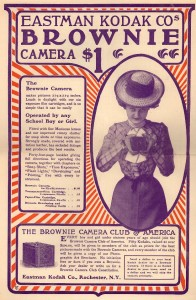 Early Brownie Ad courtesy Duke University Library