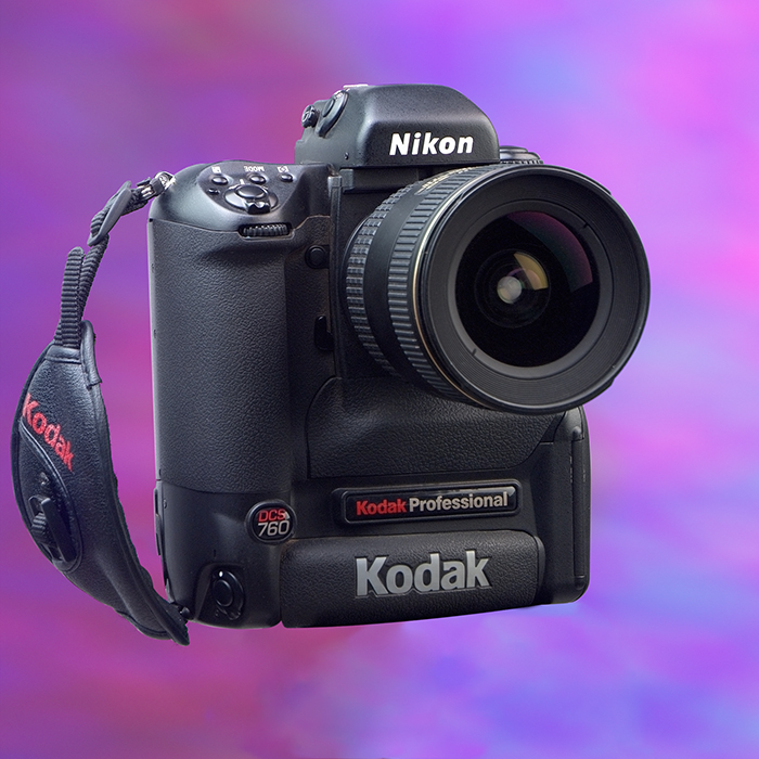 """The first """"affordable"""" DSLR camera cost $8,000.00"""